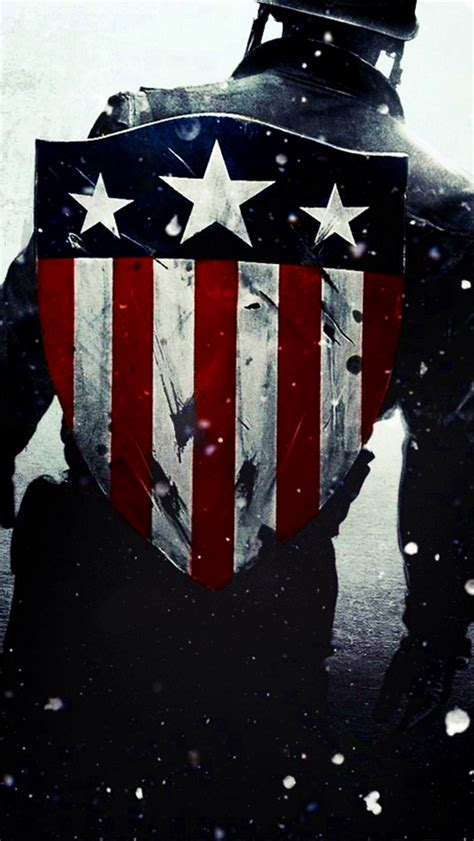 wallpaper iphone 5 captain america captain america flag shield iphone 5 wallpaper 640x1136