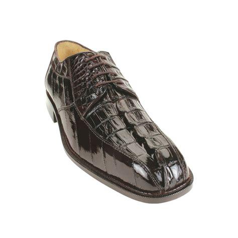 belvedere boots belvedere bruno hornback eel shoes brown