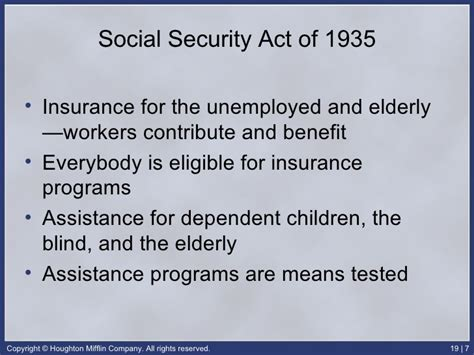 section 207 of the social security act ap gov chap 19