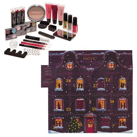 make up calendar technic cosmetic make up advent calendar 2017 nail varnish