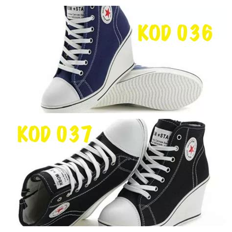 Harga Converse High Cut ready stock kasut sukan kasut joging kasut berjalan