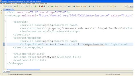 xml pattern w can we change the url pattern in web xml addicted to