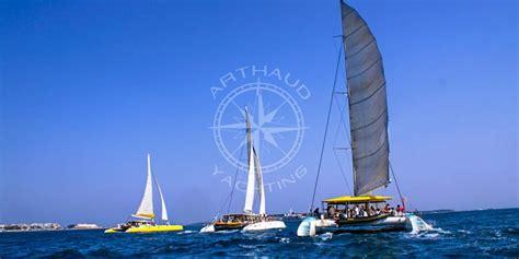 catamaran charter nice rent a maxi catamaran french riviera arthaud yachting