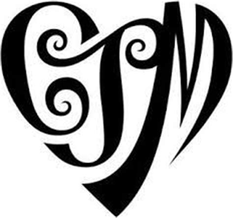 tattoo designs letters intertwined monograms monogram styles and initials on