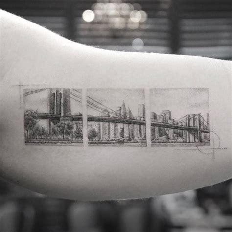tattoo nyc skyline 25 cityscape tattoos of the world s most beautiful