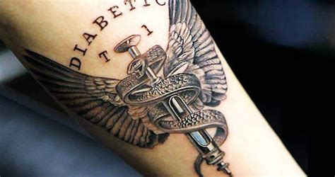 amazing diabetes tattoos and what they mean slideshow