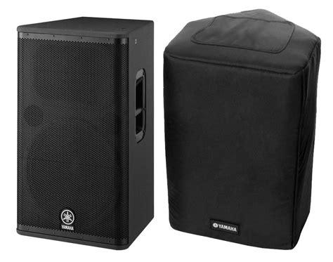 Speaker Yamaha Dsr 115 yamaha dsr 115 aktivbox 1300 watt set mit schutzh 252 lle