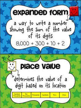 A Place Explained Expanded Form Clipart 65