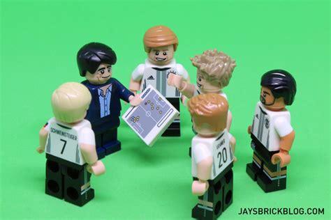 Lego Team review lego german football team minifigures