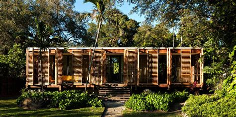Cracker House Plans wooden tropical brillhart house located in miami by