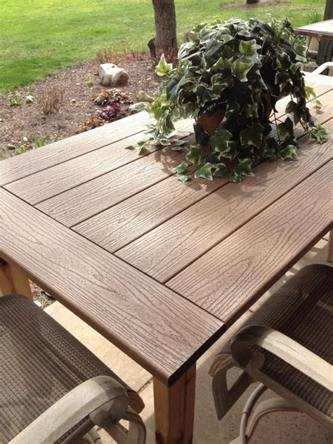 outdoor wood table tops kregjig project outdoor table by flynn top made
