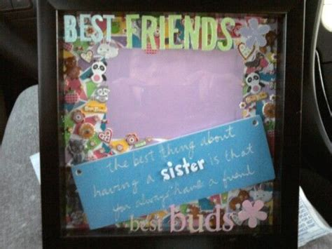 37 best scrap booking shadow boxes images on pinterest made this as a going away gift for my best friend using a