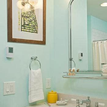grey and turquoise bathroom turquoise blue vanity with honed black granite countertop
