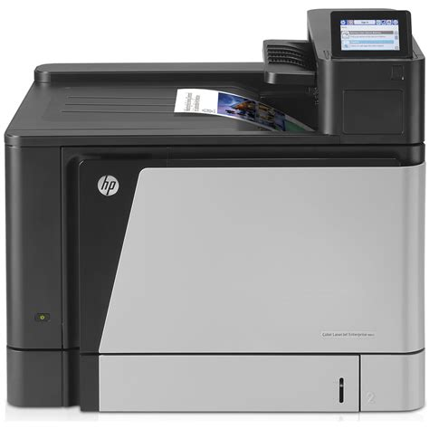 Printer Hp A3 Color hp laserjet enterprise m855dn a3 colour laser printer a2w77a