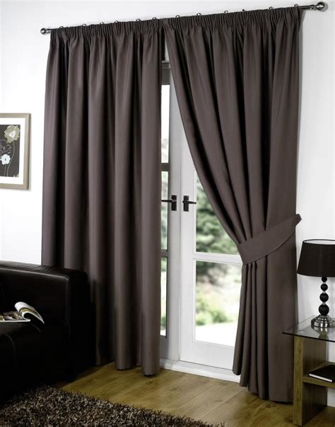 supersoft thermal blackout curtains bedroom curtain black