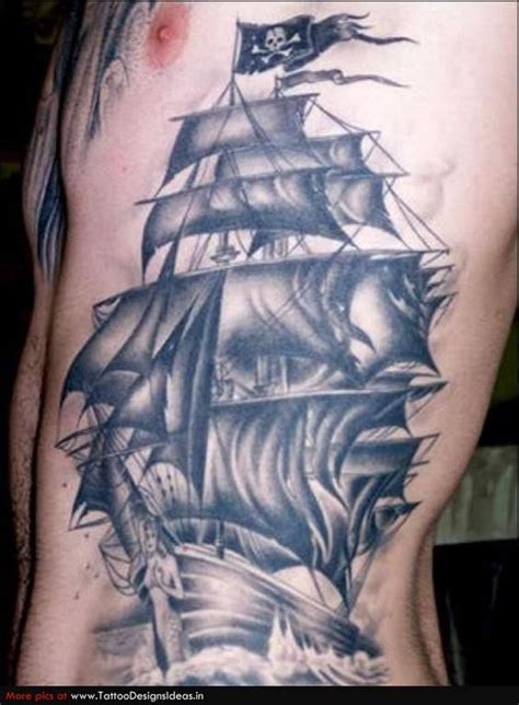 clipper ship tattoo tattoo pinterest ghosts ship
