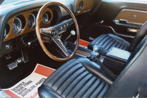 Ford Mustang 1969 Interior by 1969 Ford Mustang 429 Fastback 137876