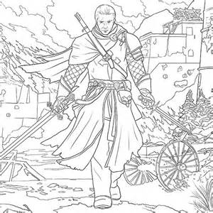 assassin creed official coloring book thinkgeek