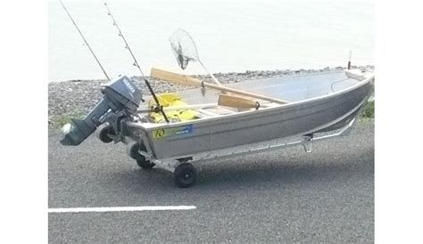 small boat beach trailer dolly trailer nz