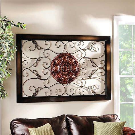 home decor home furnishings kirklands harper medallion metal wall plaque kirklands