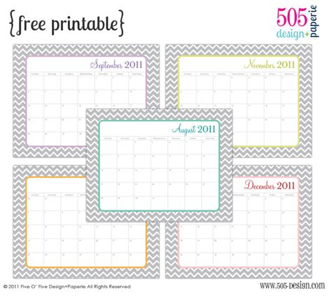 make free calendars online printable free printable 2011 calendar with editable text 505