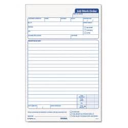quotes work order forms quotesgram