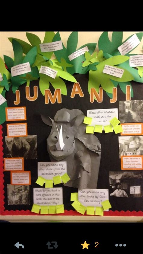 Book Themes Ks2 | amazing jumanji book display ks2 book corner szkola