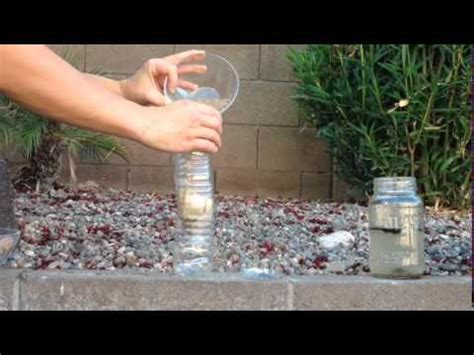 kid science make a mini water filter
