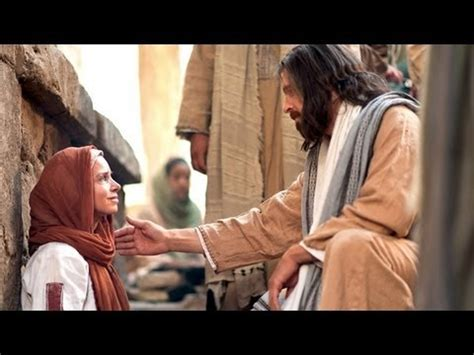 jesus heals  woman  faith youtube