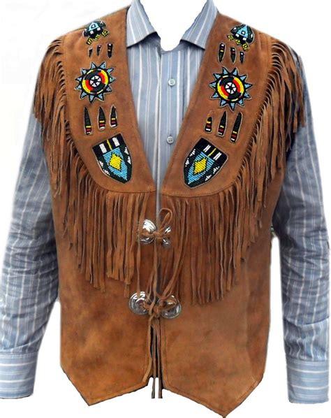 western biker celebrita x western biker leather vest beads work