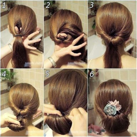 hairstyles buns step by step messy bun hairstyles step by step 5 nationtrendz com