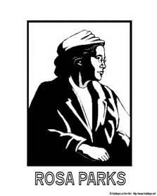rosa parks coloring page rosa parks coloring pages