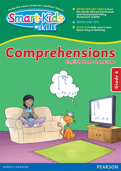 is the smart kid yours books smart skills comprehensions grade 6 smartkids