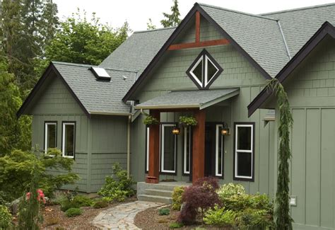 custom homes rustic exterior seattle by estes builders