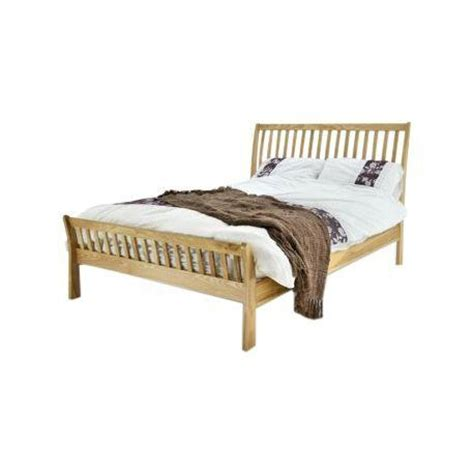 King Size Bed Wood Frame Arun Solid Ash Wood Bed Frame King Size Forever Furnishings Home And Garden Furnishings