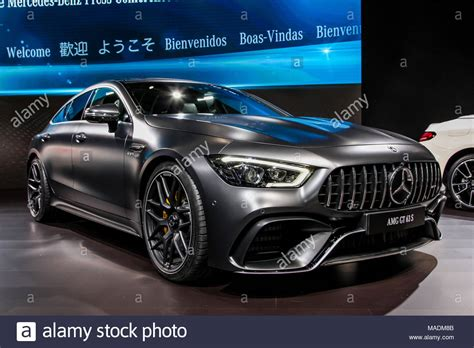 Mercedes New York City by New York City March 28 Mercedes Amg Gt 63 S Shown At The