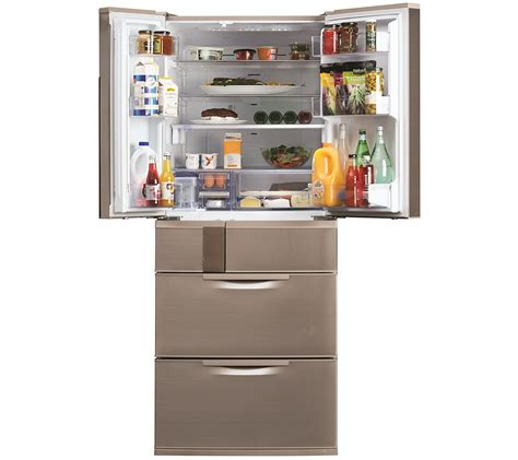 mitsubishi electric refrigerator mitsubishi electric 655l connoisseur four drawer