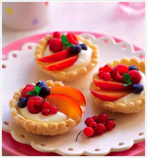 tesco magazine fruit tartlets
