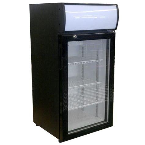 Countertop Refrigerator - beverage air ctr3 1 b led black countertop display