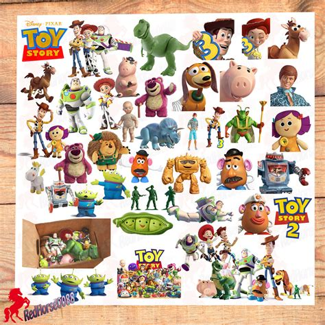 story name 42 story disney pixar character png images by redhorse0088