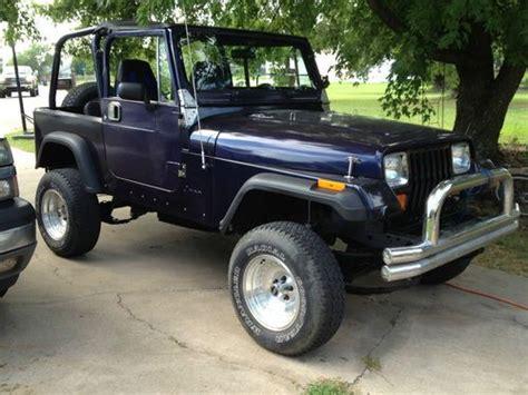 1992 Jeep Wrangler Gas Mileage Purchase Used 1992 Jeep Wrangler Yj In Seminole Oklahoma