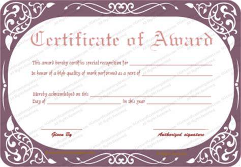 top performer award templates certificate of appreciation sles