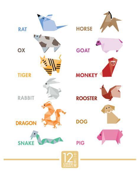origami zodiacs  behance