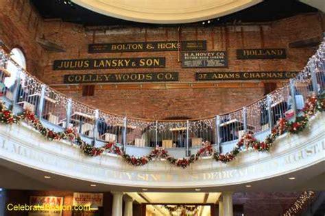 christmas hall themes celebrate boston photos