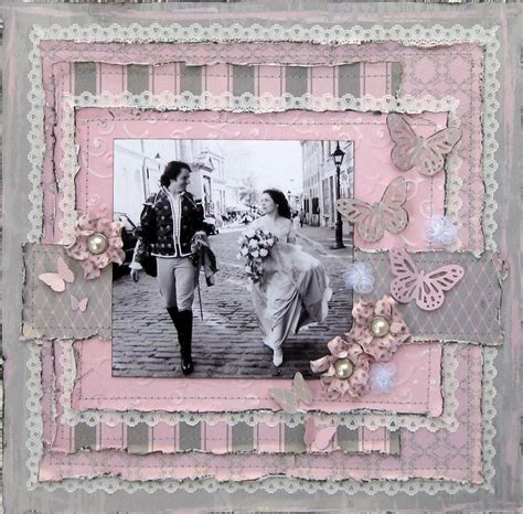 scrapbook wedding layout ideas scrapbook wedding double page layouts couple of love