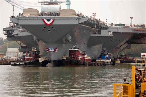 gerald ford class gerald r ford class aircraft carrier