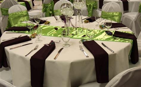 lime green table runner satin table runners