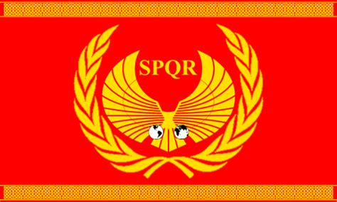 ancient roman empire flag nationstates view topic united nations of fail earth