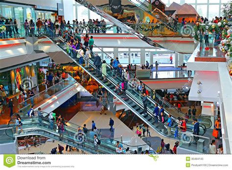 1000 Images About Festival City Interior On Hong Kong Modern Bedrooms And Small busy shopping mall interior editorial stock photo image 35484143