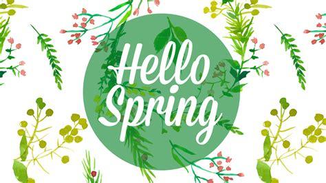 wallpaper spring pinterest hello spring iphone wallpaper 2 png 1366 215 768